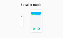 How to use Speaker Mode